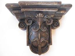 Decorative Wall Sconces Corbel Shelf Wall Sconce Decorative Display Baroque Decor What U0027s