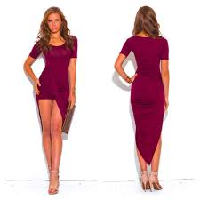 asymmetrical dress 40 cocoavente dresses skirts burgundy draped asymmetrical