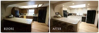 Before And After Kitchen Remodel Kitchen Remodel Hughson Euclid Avenue Complete