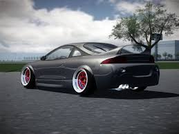 stanced mitsubishi eclipse virtual stance works forums show off your virtually stanced