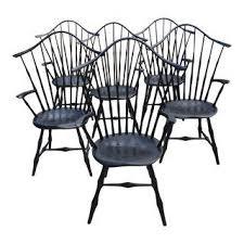 Black Windsor Chairs Vintage U0026 Used Dining Chairs Chairish