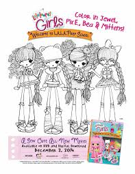 100 lalaloopsy coloring page coloring pages free toddler