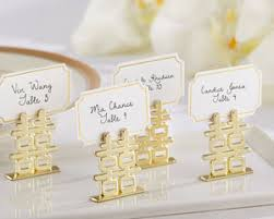 happiness place card holders set of 6 by kate aspen