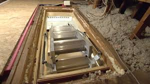 how to hang attic stairs today u0027s homeowner