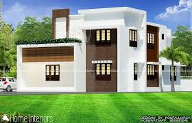 Home Design 2000 Square Feet Square Feet Double Floor 4 Bhk Contemporary Home Design