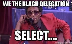 Def Meme - we the black delegation select draft day mos def meme