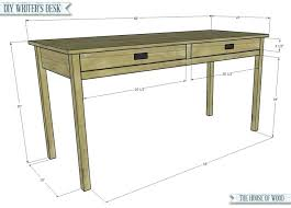 Small Wooden Writing Desk Small Wooden Writing Desk Build A Simple Writers Desk With Free