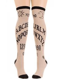 knee high halloween socks ouija board women u0027s knee high socks socksmith fashion socks