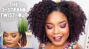 Chunky Flat Twist Hairstyles by Natural Hairstyles The 3 Strand Twist Out Youtube