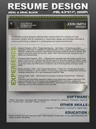 creative resume template by scarab13 graphicriver