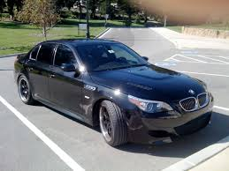 custom black bmw bmw e60 m5 u2013 making it something special u2013 br racing blog
