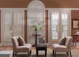 Decorative Window Shades by Interior White Fur Rug With Leather Sofa Also White Paint Graber
