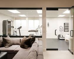 Best Home Gym  Fitness Designs Images On Pinterest Home Gym - Home gym interior design