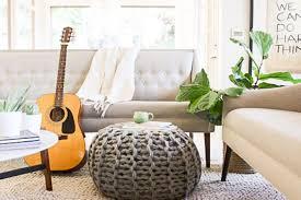 pouf marocain cuir living room poufs valuable idea poufs for living room fine design