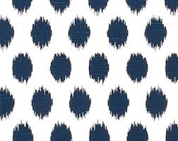 Blue Home Decor Fabric Navy Blue Geometric Chenille Upholstery Fabric For Furniture