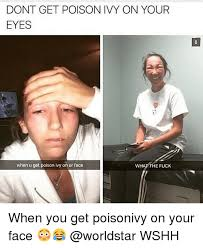 What The Meme - 25 best memes about poison ivy poison ivy memes