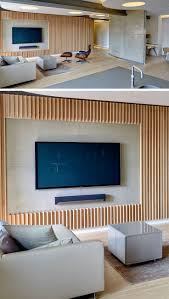 cuisine best ideas about tv wall design on living room wall