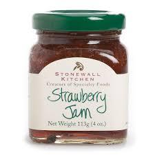 amazon com stonewall kitchen jam sampler 6 piece gift basket set