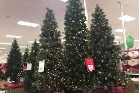 alaskan flocked tree trees target stores