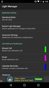notification settings android how to completely customize the led notification colors on your