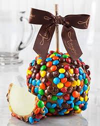 Caramel Apple Party Favors Amazon Com M U0026m Caramel Apple Gourmet Food Grocery U0026 Gourmet Food