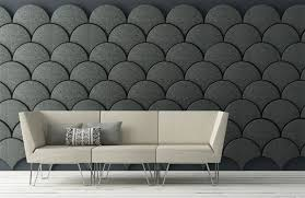 wall designs unique grey wall design ideas combined with sweet small couch with