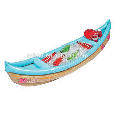 inflatable buffet and drink cooler inflatable cooler in boat shape