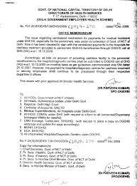 health u0026 family welfare delhi government employees health scheme