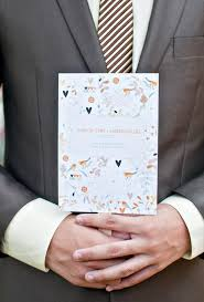 Wedding Program Ceremony Do We Need A Wedding Program Brides