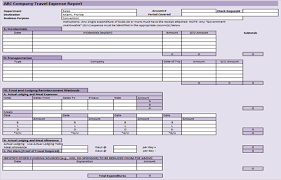 Business Templates Excel Expense Report Excel Template Selimtd
