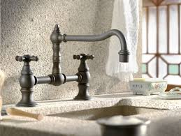rustic kitchen faucets eight elements of rustic kitchens abode