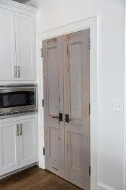 kitchen pantry doors ideas cypress bi fold pantry doors transitional kitchen projects to