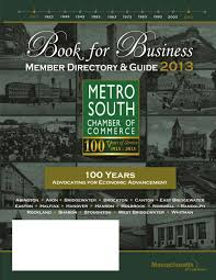 book for business 2013 centennial edition by metro south chamber