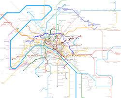 Metro Map Paris by Metro Maps Interior Decorative Panels Textures
