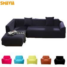 canapé couleur solide pur couleur canapé housse fauteuil coin canapé plein corps