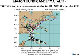 Show Me A Map Of The Dominican Republic Hurricane Irma Path Why U0027spaghetti Models U0027 Show Range Of Options