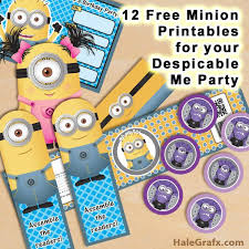 55 best despicable me minion themed birthday party ideas images on