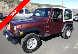 jeep rubicon 2017 maroon used 2003 jeep wrangler x pagosa springs co harbison auto sales