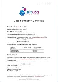 ihp decontamination service hydrogen peroxide decontamination