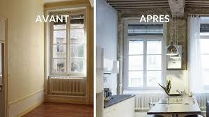 creer une cuisine avant après créer une grande pièce à vivre avec une cuisine
