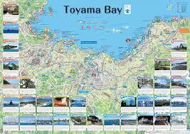Green Bay Map Toyama Bay Map The Fascinating Toyama Bay The Beautiful Toyama