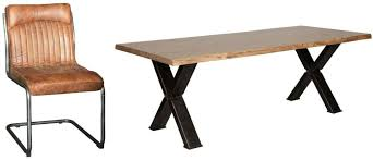 cross leg coffee table buy carlton additions barkington forged steel cross leg dining table