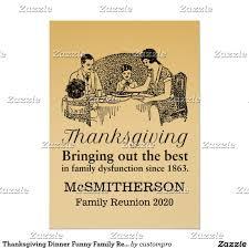 Family Reunion Invitation Cards Thanksgiving Dinner Funny Family Reunion Invitatio Paper