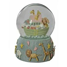 gisela graham noah s ark musical snow globe gisela graham from