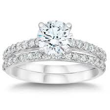 engagement and wedding ring set wedding sets costco