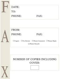 11 best fax cover letters images on pinterest free printable
