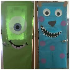 Monsters Inc Halloween by Monsters Inc Classroom Doors Door Decorating Pinterest