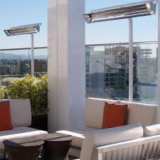 Electric Patio Heaters Infratech Wd Series 39 Inch 5000w Dual Element Electric Infrared
