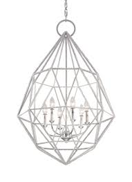 Silver Chandelier by F2942 6slv 6 Light Marquise Chandelier Silver