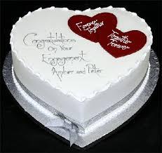 engagement cakes engagement cakes lovely hearts cake crustncakes online cake